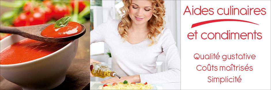 Darégal - Industrie - Aides Culinaires et Condiments