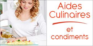 Aides Culinaires et Condiments