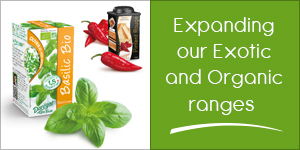 Expanding our Exotic and Organic ranges